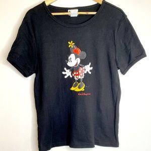 Ladies Disney World Minnie Mouse Tee